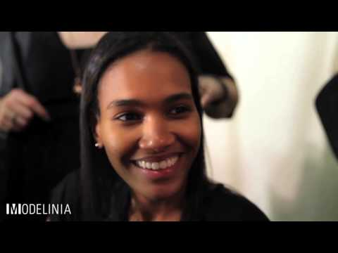Model Confessionals: Arlenis Sosa at Zac Posen NYFW Spring 2015
