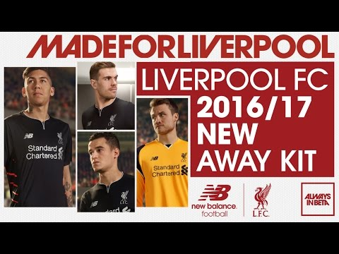 Revealed: Liverpool FC's 2016-17 away kit