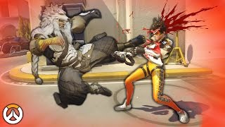 OVERWATCH ► FUNNIES, FAILS & CRAZY MOMENTS #50