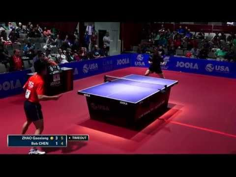 2015 US Open - Men's Singles Quarterfinal - Zhao Gaoxiang vs. Bob Chen
