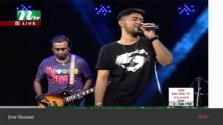 Meghomilone - Tanjib Sarwar Live NTV