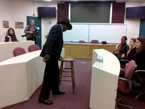 Mr Rubin Carter's conference at BHCC 2011