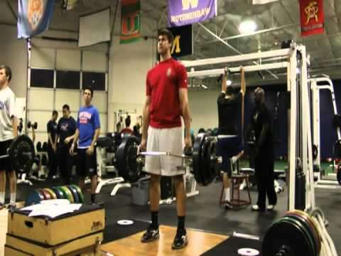 Trap Bar Deadlift - Joey Gallo