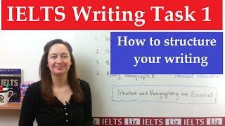IELTS Writing Task 1: How to organise your writing