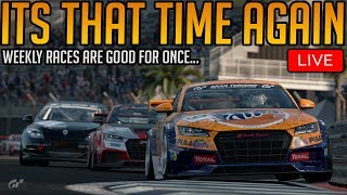 Gran Turismo Sport: Monday Means... More Weekly Races