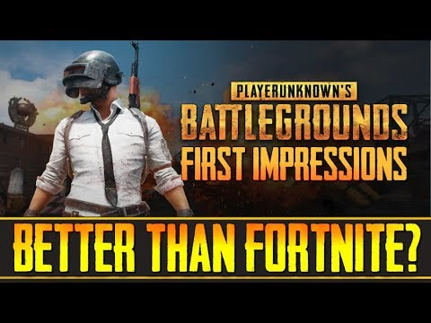 """PUBG - """"Is it Better Than Fortnite and H1Z1, or Does it Suck?"""" - (PlayerUnknown's Battlegrounds)"""