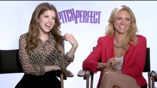 PITCH PERFECT Interviews: Anna Kendrick, Brittany Snow, Anna Camp, Skylar Astin and more!