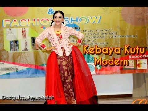 Fashion Show. Kebaya kutu modern design by Joyce Indah