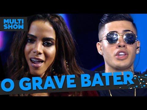 O Grave Bater  Mc Kevinho + Anitta  Música Boa Ao Vivo  Música Multishow