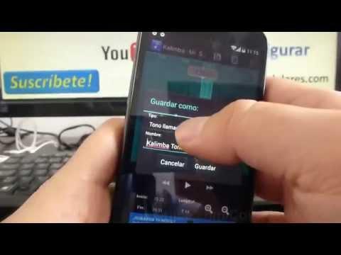 Cómo poner cancion mp3 como tono de mensaje android KitKat Motorola moto g X T1032 comoconfigurar