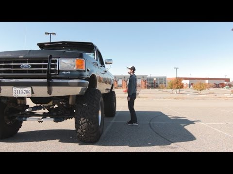 Monster Truck For the Street! Crazy F350 Review