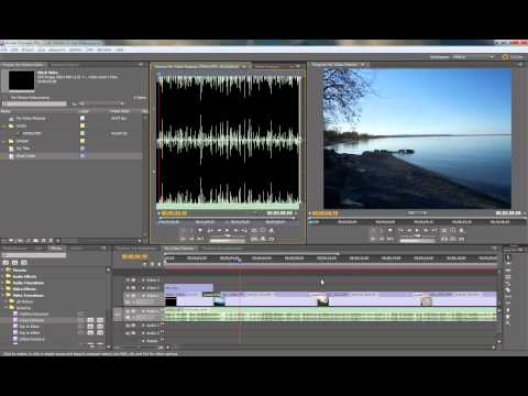 Create Picture Slideshow with music in Adobe Premiere CS5.5 Pt 2 of 2