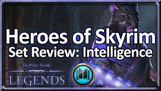 (TES: Legends) Heroes of Skyrim Set Review - Intelligence