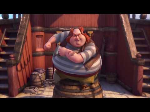 Tinkerbell hadas y piratas HD canción de los piratas