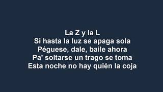 Zion Y Lennox La Player Bandolera Con Letra Reggaeton 2018