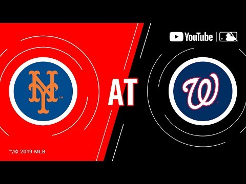 Mets at Nationals  MLB Game of the Week Live on YouTube