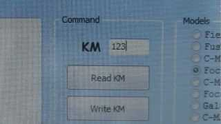 Ford Focus 9s12 read and write eeprom Change  KM via OBDII