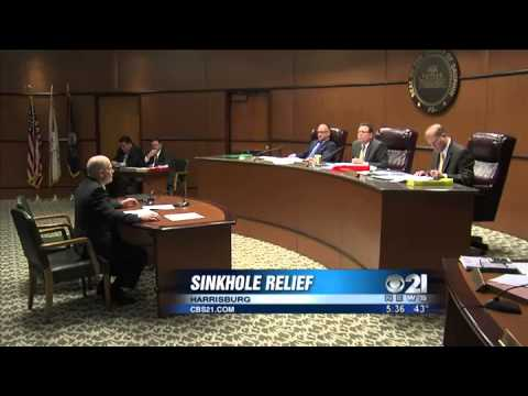 Dauphin Co. Commissioners hopeful for federal relief for sinkholes