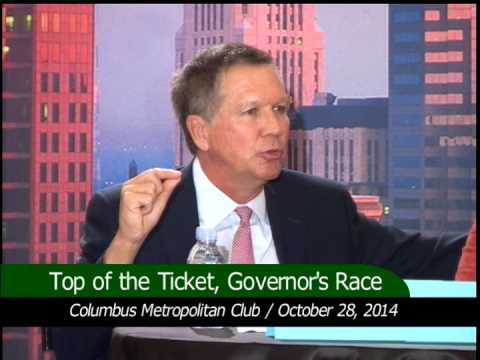 Top of the Ticket, Ohio Governor's Race John Kasich - YouTube