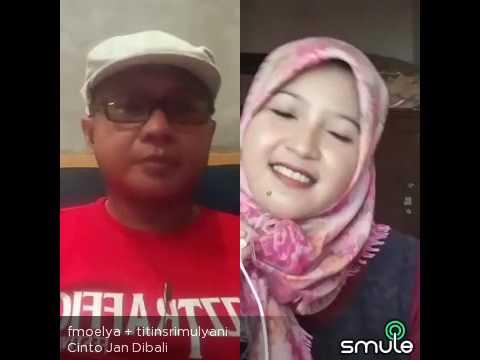 Cinto Jan Dibali - Ria Amelia (cover) Smule Minang