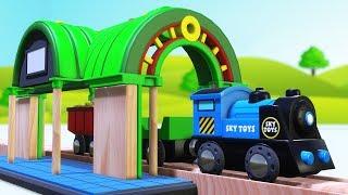 chu chu train for kids - Train for kids Cartoon - CHOO CHOO TRAIN CARTOON - Train Video - Toy Train