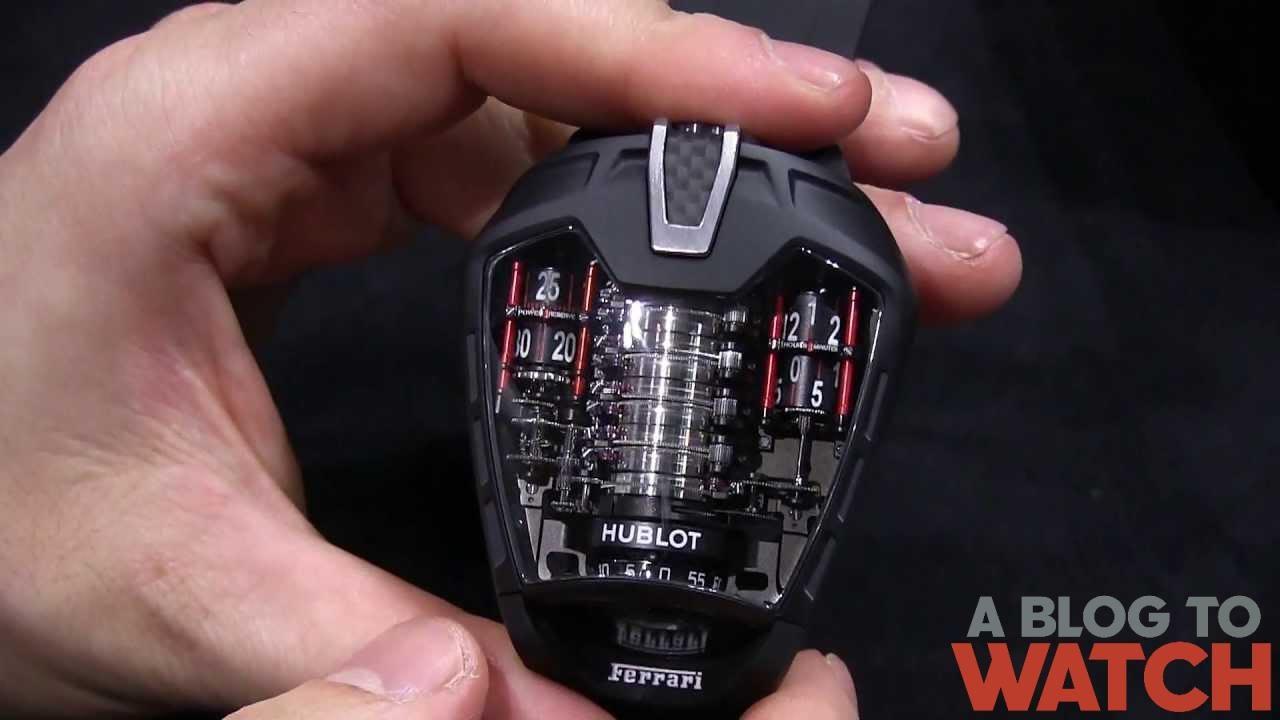 Hublot MP-05 LaFerrari Ferrari Watch Hands-On - YouTube