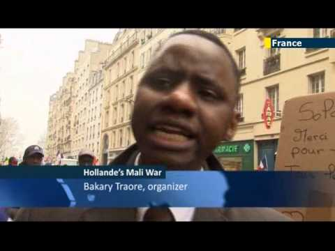 Malians in France back Hollande's war: French Africans support anti-Islamist intervention
