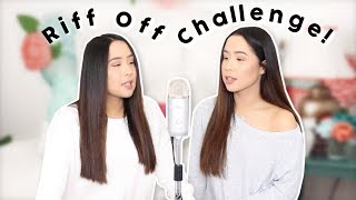 RIFF OFF CHALLENGE! Sister vs Sister Rematch!
