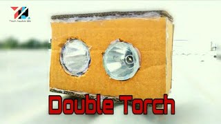 How to make a double torch 🔦 /at home/