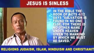 Jesus is sinless  by Rev Lawrence Ingti