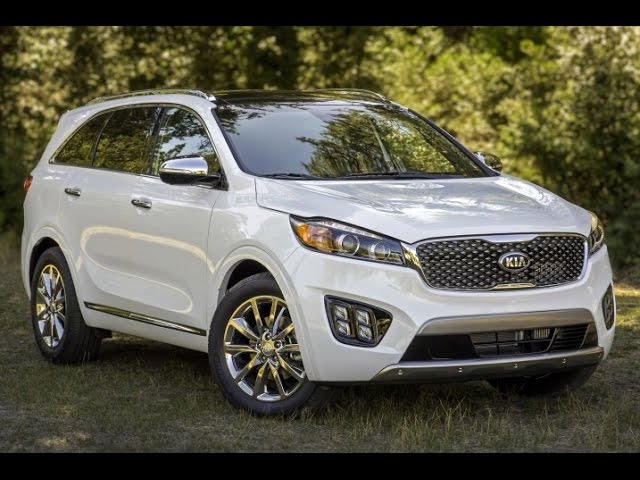 2016 Kia Sorento Start Up, Road Test, & Review 3.3 L V6 ...