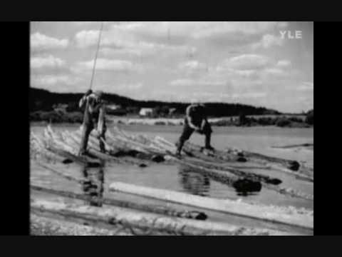 Kaksi Vanhaa Tukkijätkää - Justeeri   (1951)