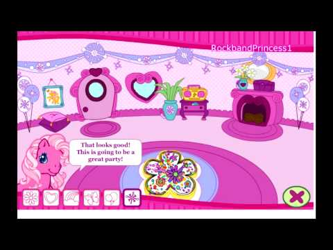 little pony online games