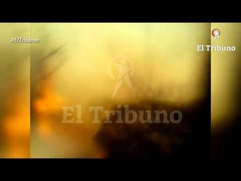 Brigadistas filmaron su horrorosa muerte en el incendio de Guachipas