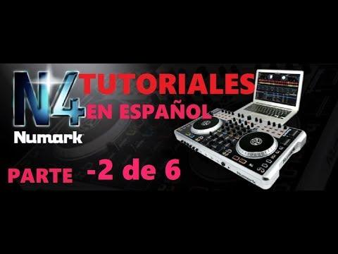 Tutorial manejo de un controlador y mixer Numark N4 parte 2