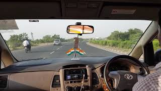 The reckless driver driving in India highway