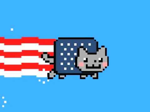 Thumb Nyan Cat en versión 4 de Julio (Independence Day de USA)