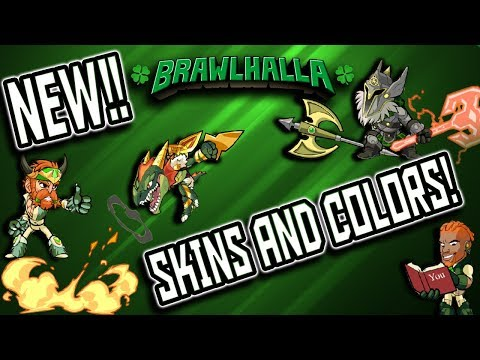 Buying ALL the NEW COLORS and SKINS!!! - Brawlhalla