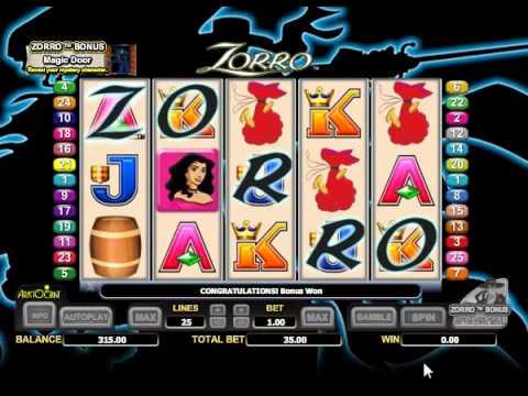 free online zorro slot games