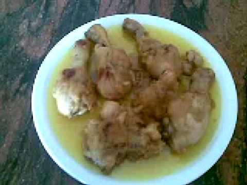 final de pollo al curri