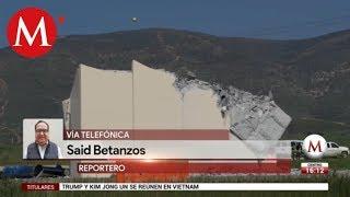 EU derriba los prototipos de muro fronterizo en San Diego