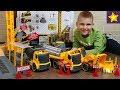 Машинки Игрушки для Мальчиков Silverlit Мегастройка Управляем грузовиками, трактором и краном