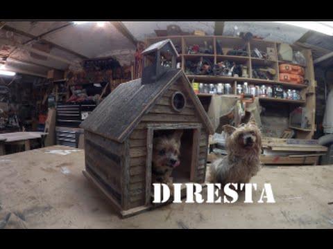 DIRESTA Old School Dog House