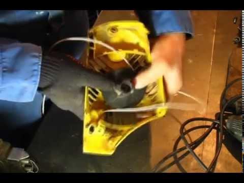 Как отремонтировать стартер бензопилы своими руками