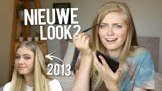 Mijn OUDE make-up look NAMAKEN