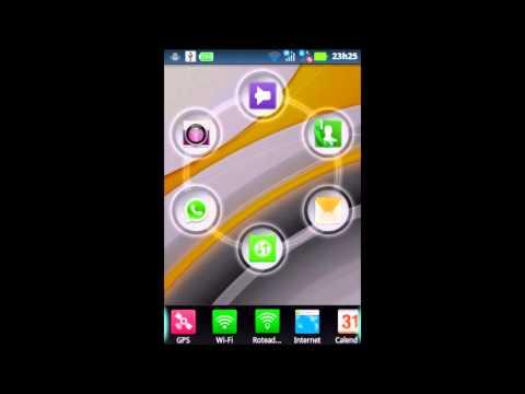 Mudar ícones da tela de desbloqueio da Motorola