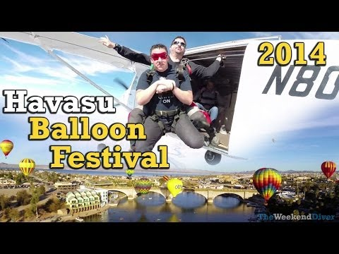 Floating Over Havasu - Balloon Festival Short Film