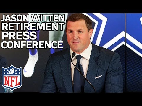 """Jason Witten, """"I relied on grit"""", on Retiring from Cowboys 