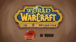 World of Warcraft ENTIRE Storyline of All Games in 3 minutes! (World of Warcraft Animation)