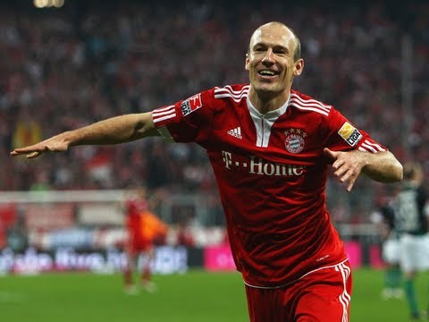 Arjen Robben | Goals and Skills | 2009-2013